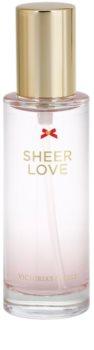 Victoria's Secret Sheer Love White Cotton & Pink Lily eau de toilette nőknek 30 ml