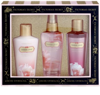 51eec665a5bad Victoria's Secret Sheer Love White Cotton & Pink Lily