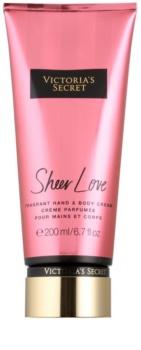 Victoria's Secret Fantasies Sheer Love Bodycrème voor Vrouwen  200 ml