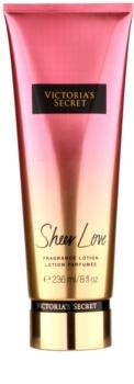 Victoria's Secret Sheer Love tělové mléko pro ženy 236 ml