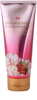 Victoria's Secret Strawberry & Champagne tělový krém pro ženy 200 ml