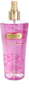 Victoria's Secret Strawberry & Champagne testápoló spray nőknek 250 ml