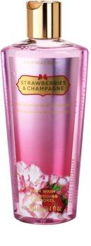 Victoria's Secret Strawberry & Champagne Douchegel voor Vrouwen  250 ml