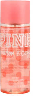 Victoria's Secret Pink Warm and Cozy spray de corpo para mulheres 250 ml