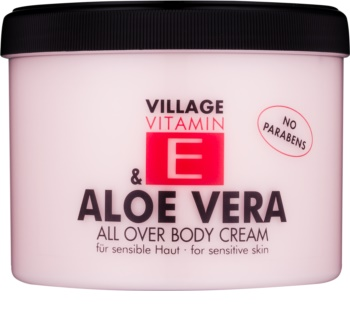 Village Vitamin E Aloe Vera Body Cream