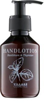 Village Herbal Basil & Thyme krém na ruce