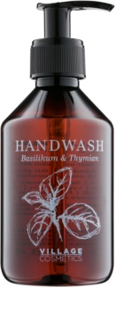 Village Herbal Basil & Thyme tekuté mýdlo na ruce