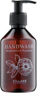 Village Herbal Bergamot & Rosemary tekuté mydlo na ruky