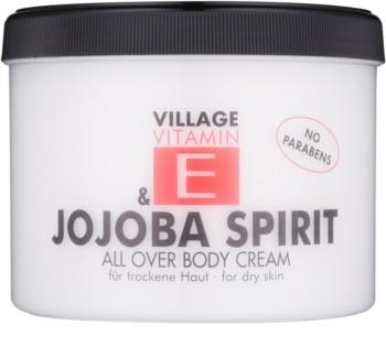 Village Vitamin E Jojoba Spirit telový krém