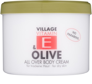 Village Vitamin E Olive Body Cream