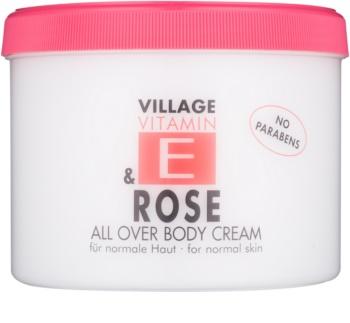Village Vitamin E Rose krem do ciała