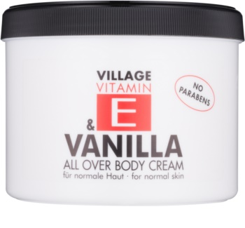 Village Vitamin E Vanilla крем для тіла