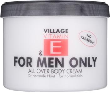 Village Vitamin E For Men Only Body Cream