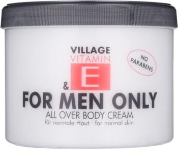 Village Vitamin E For Men Only tělový krém
