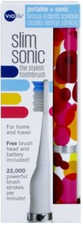 Violife Slim Sonic Bubbles cepillo de dientes sónico eléctrico con cabezal de recambio