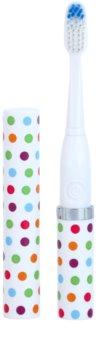 Violife Slim Sonic Confetti escova de dentes sónica elétrica com cabeça de reposição