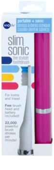 Violife Slim Sonic Purple escova de dentes sónica elétrica com cabeça de reposição