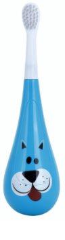 Violife Rockee Marley escova de dentes para crianças + 2 cabeças substituíveis