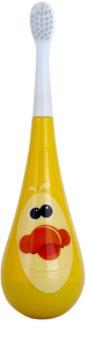 Violife Rockee Quackie zubní kartáček pro děti + 2 náhradní hlavice