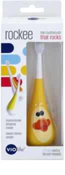 Violife Rockee Quackie dječja četkica za zube + 2 zamjenske glave
