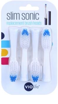 Violife Slim Sonic cabezal de recambio para cepillo de dientes sónico a pilas