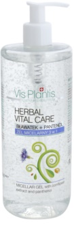 Vis Plantis Herbal Vital Care Cornflower Extract & Panthenol Micellar Gel 3in1