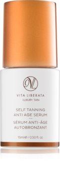 Vita Liberata Skin Care siero autoabbronzante viso contro i segni di invecchiamento
