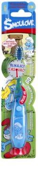 VitalCare The Smurfs dječja četkica za zube s treptajućim timerom