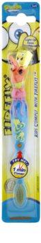 VitalCare SpongeBob szczoteczka do zębów dla dzieci z migającym minutnikiem soft