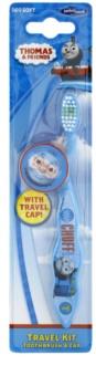 VitalCare Thomas & Friends zubní kartáček pro děti s cestovní krytkou soft