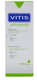Vitis Orthodontic enjuague bucal para usuarios de aparatos fijos