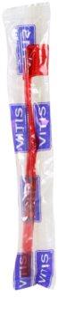 Vitis Orthodontic cepillo de dientes para usuarios de aparatos fijos