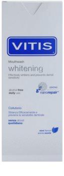 Vitis Whitening wybielający płyn do płukania jamy ustnej dla wrażliwych zębów