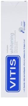 Vitis Whitening dentífrico com efeito branqueador para dentes sensíveis