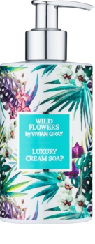 Vivian Gray Wild Flowers krémové mýdlo na ruce
