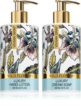 Vivian Gray Wild Flowers Cosmetic Set III.
