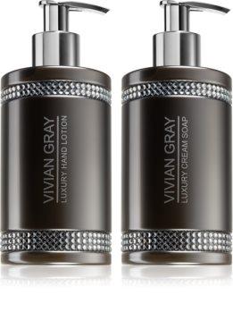 Vivian Gray Grey Crystals Cosmetic Set VIII.