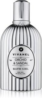 Vivian Gray Vivanel Orchid & Sandal sprchový a koupelový gel