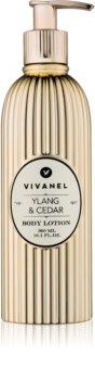 Vivian Gray Vivanel Ylang & Cedar telové mlieko