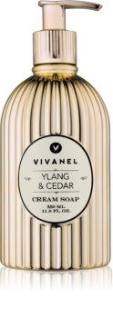 Vivian Gray Vivanel Ylang & Cedar krémové mýdlo