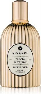 Vivian Gray Vivanel Ylang & Cedar sprchový a kúpeľový gél