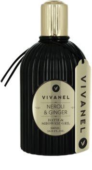 Vivian Gray Vivanel Prestige Neroli & Ginger kúpeľový gél