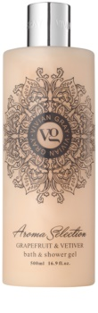Vivian Gray Aroma Selection Grapefruit & Vetiver Shower And Bath Gel