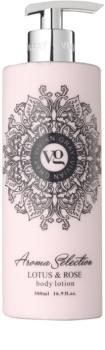 Vivian Gray Aroma Selection Lotus & Rose lotiune de corp
