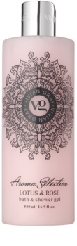 Vivian Gray Aroma Selection Lotus & Rose Dusch- und Badgel