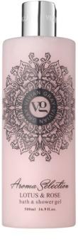 Vivian Gray Aroma Selection Lotus & Rose Shower And Bath Gel
