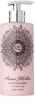 Vivian Gray Aroma Selection Lotus & Rose kremowe mydło w płynie