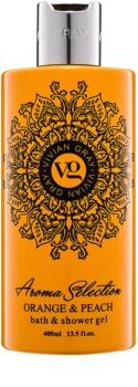 Vivian Gray Aroma Selection Orange & Peach gel de dus si baie