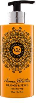 Vivian Gray Aroma Selection Orange & Peach kremowe mydło w płynie