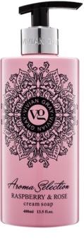 Vivian Gray Aroma Selection Raspberry & Rose sabão liquido cremoso